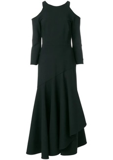 Temperley Mercury ruffle dress