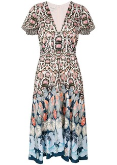 Temperley multiprint dress