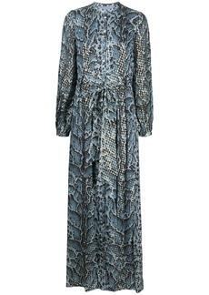 Temperley Ocelot print dress
