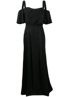 Temperley off-shoulder maxi dress