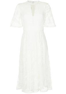 Temperley open-knit dress
