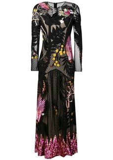 Temperley Opera Tattoo dress