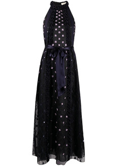 Temperley Pixie floral embroidery dress