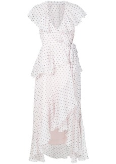Temperley polka dot dress