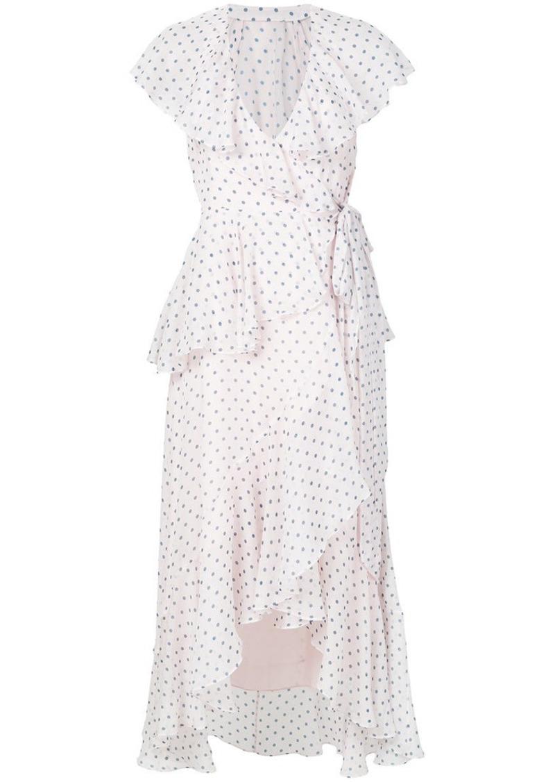 Temperley polka dot dress