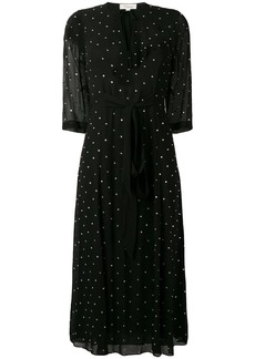 Temperley polka dot midi dress