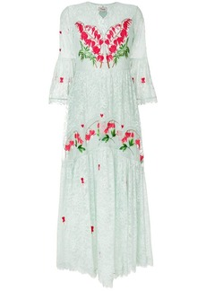 Temperley Potion v-neck dress