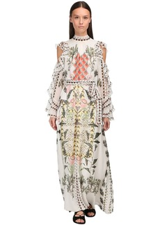 Temperley Printed Muslin Long Dress