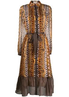 Temperley printed shirt dress