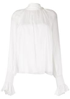 Temperley Quinette silk blouse