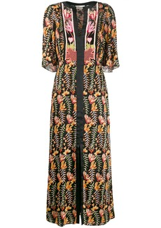 Temperley Rosy patterned dress