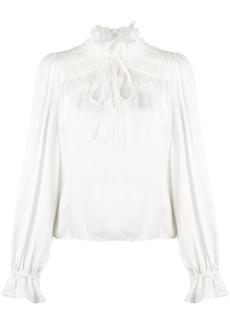 Temperley ruffle trim shirt