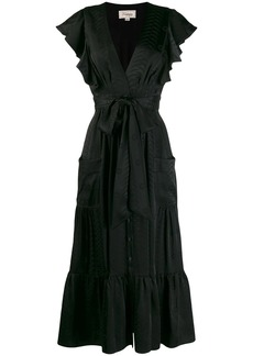 Temperley ruffled midi dress
