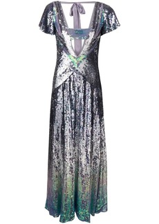 Temperley Ruth sequin gown