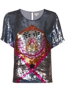 Temperley Sara sequin T-shirt
