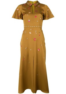 Temperley Saturn collar dress