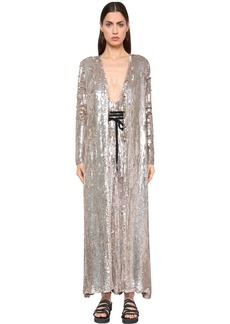 Temperley Sequined Viscose Coat