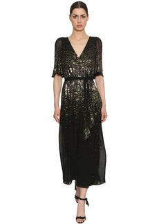 Temperley Sequined Wide Leg Jumpsuit