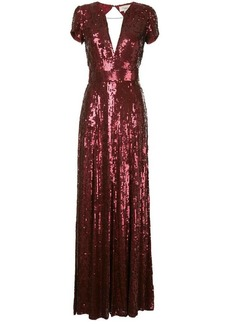 Temperley sequins long dress