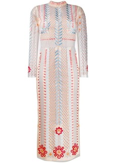 Temperley teahouse sleeve dress