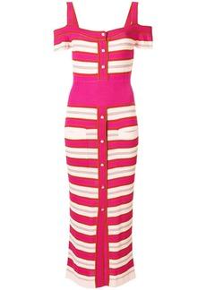 Temperley London Avignon fitted dress - Multicolour