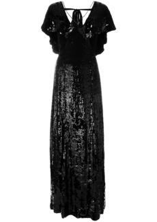 Temperley London Bardot maxi dress - Black