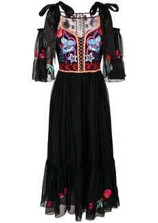 Temperley London Botanist dress - Black