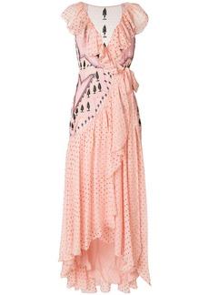 Temperley London Bourgeois dress - Pink & Purple