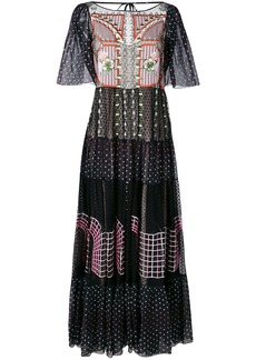 Temperley London Bourgeois long dress - Black