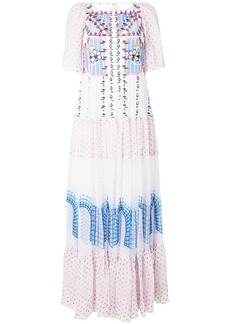 Temperley London Bourgeois long dress - Multicolour