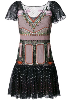 Temperley London Bourgeois mini dress - Multicolour