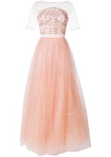 Temperley London Cannes dress - Pink & Purple