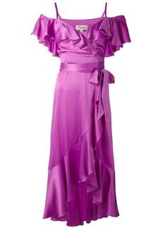Temperley London Carnation dress - Pink & Purple