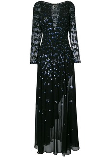Temperley London Celestial gown - Black