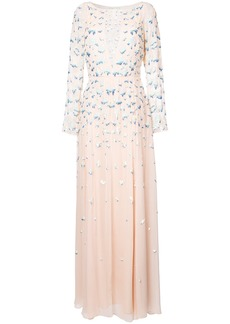 Temperley London Celestial gown - Pink & Purple