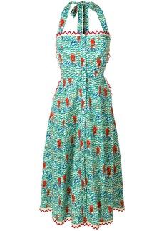 Temperley London Cypress midi dress - Multicolour