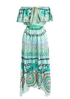 Temperley London Dream Catcher tie-front silk dress