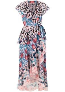 Temperley London Garden Cacti printed dress - Multicolour