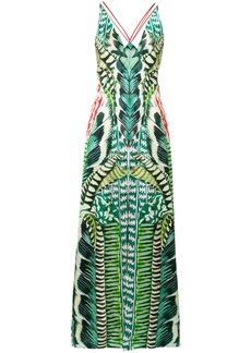 Temperley London Garden maxi dress - Green