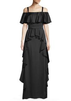 Temperley Hippolyta Floor-Length Dress