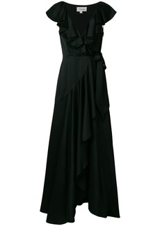 Temperley London Juliette ruffle dress - Black