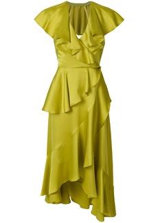 Temperley London Juliette wrap dress - Green