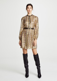 Temperley London Letter Print Mini Dress