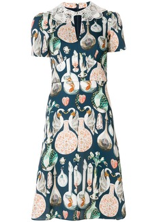 Temperley London Love Potion dress - Blue