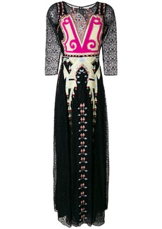 Temperley London Lumiere maxi dress - Black