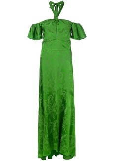 Temperley London Orbit dress - Green