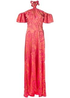 Temperley London Orbit dress - Yellow & Orange