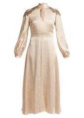 Temperley London Parachute sequinned satin dress