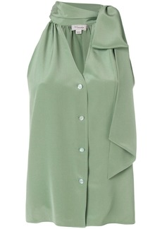 Temperley London Plage blouse - Green