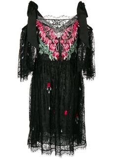 Temperley London Potion mini dress - Black